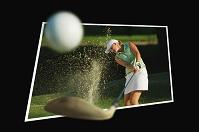 飛び出すゴルフイメージ