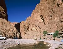 モロッコ ティネリール トドラ峡谷