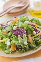 紫キャベツとグリーンリーフのサラダ