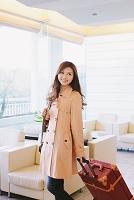 ホテルの日本人女性