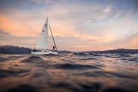 アメリカ タホ湖とヨット
