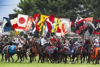 福島県 相馬野馬追 神旗争奪戦
