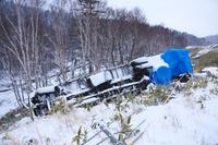 北海道 交通事故のトラック