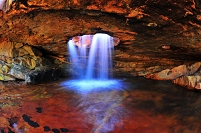 南アフリカ共和国 マスカム山の滝