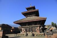 ネパール パナウティ シヴァ寺院