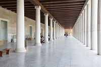 ギリシャ アテネ 古代アゴラ アタロスの柱廊
