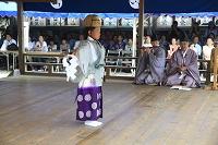 扇祭り(那智の火祭り)稚児舞の儀式