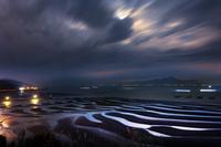 熊本県 御輿来海岸夜景