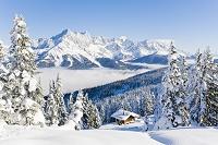 オーストリア 雪景色