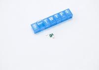 ピルケースと錠剤