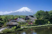 富士山、忍野八海、富士箱根国立公園