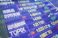 株価と為替の電光掲示板