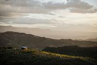 エチオピア ラリベラ近くの風景