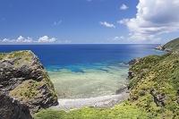 沖縄県 慶良間諸島 座間味島 北西側の海