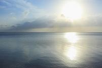 早朝の新城海岸