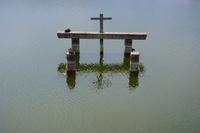 奈良県 貯水池の栓