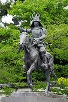岐阜県 戸田氏鉄騎馬像