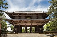 奈良市 東大寺南大門と大仏殿
