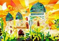 ウズベキスタン シャフリサブズの歴史地区