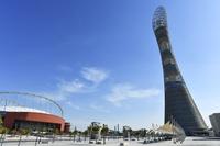 カタール ハリーファ国際スタジアムとアスパイア・タワー