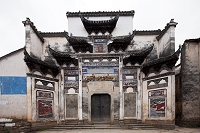 中国 安徽 黄山 古町