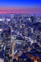 東京都 恵比寿から渋谷・新宿方面の夜景