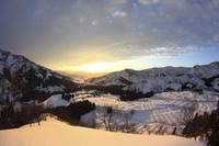 新潟県南魚沼市 八海山の雪景色