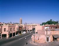 モロッコ マラケシュ 街並み