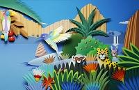 熱帯の動物たち