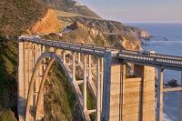 アメリカ カリフォルニア州 ビクスビー橋