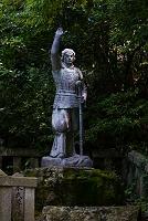 滋賀県 日本武尊像