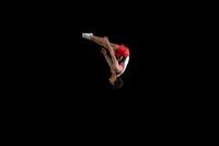 男子体操選手 トランポリン