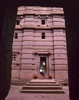 エチオピア ラリベラ 岩窟教会群 ベタ・エマヌエル