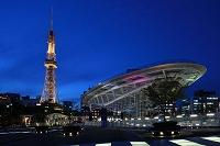 愛知県 名古屋市 テレビ塔とオアシス21