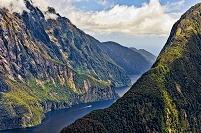 ニュージーランド フィヨルドランド国立公園