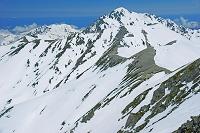 富山県 立山 雄山山頂より剣岳