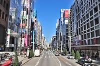 東京都 中央区 中央通り銀座六丁目付近