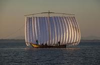 茨城県 霞ヶ浦 観光帆引き船
