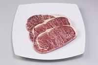 油脂注入冷凍ステーキ牛肉