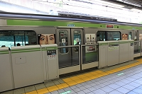 東京都 目黒駅 転落防止ドアー 電車