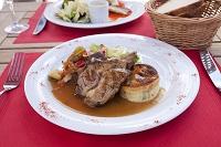 フランス料理 子羊のグリル
