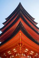 広島県 豊国神社 五重塔 国重要文化財 宮島