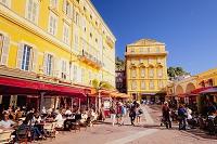 フランス ニース 街角 レストラン