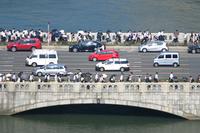 大阪府 朝の通勤風景