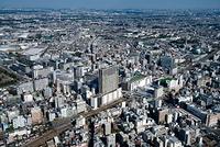 立川駅と立川の街並み