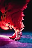 フラメンコダンサーの足元