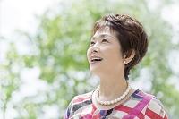 日本人の中高年女性