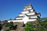 福島県 鶴ヶ城 本丸