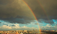 千葉県 都会の虹