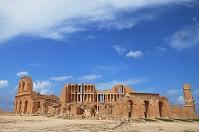 リビア サブラタの考古学遺跡 円形劇場